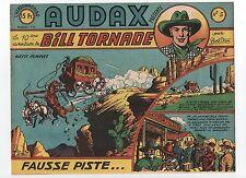 AUDAX première série n°5. BOB DAN. Ed. Artima 1950.