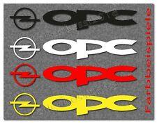OPC Opel 2 Aufkleber 200mm Tuning Racing Motorsport Decal -30 Farben- OP020