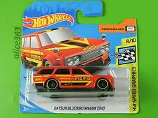 Hot Wheels 2020 - Datsun Bluebird Vehículo - Speed Graphics - 146 - Nuevo En Ovp
