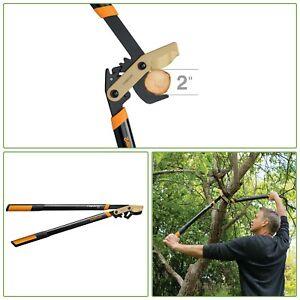 "TREE BRANCH CUTTER Titanium Lopper 32"" Garden Tool Bypass Blade Style Steel"