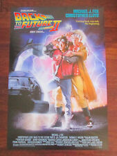 """Back to the Future 2 II Movie Poster Print 40"""" x 27"""" Michael J. Fox McFly"""