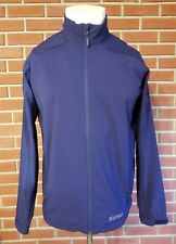 "Marmot Full Zip Long Sleeve Polyester Jacket Mens Large 2014 ""TT"" Navy Blue EUC"