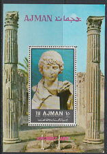 Ajman 1972 ** Bl.449 A Kunst art Antike antiquity
