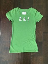 abercrombie fitch Green t shirt Youth Medium