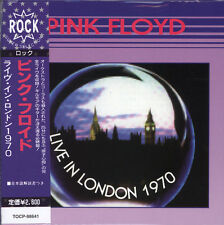 PINK FLOYD LIVE IN LONDON 1970 CD MINI LP NEW OBI+JAPANESE BOOKLET+GIFT, OBI