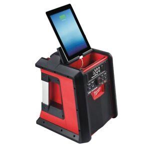 Milwaukee M18RC Batterie Netz-Radio Avec Fonction de Recharge 4933446639 18Volt