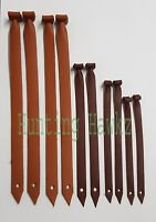 Falconry Flying Jesses, High Quality Tan Cow Hide Leather Available All 5 Sizes