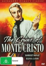 The Count of Monte Cristo (1934) NEW R4 DVD