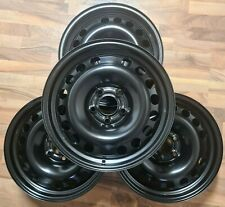 Stahlfelgensatz Opel 6,5Jx16 ET37 LK5x110 schwarz (Int.Nr.U1579)