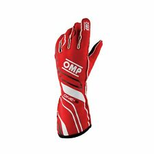 OMP ONE-S MY20 Racing Gloves Red (FIA) s. M
