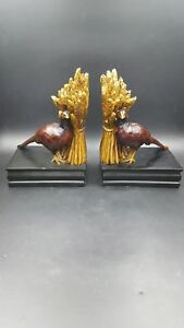 Harvest Pheasant Decorative Bookends by Sterling Industries