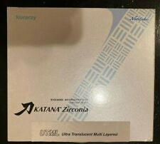 Katana UTML Zirconia Block - 98.5mm x 14mm -  Shade A3  - New Disc In Box