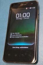 LG P990 Optimus Speed dark brown ohne Simlock gebraucht mit Kratzern u. Spuren