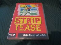 "RARE! COFFRET 3 DVD NEUF ""STRIP TEASE, VOLUMES 4, 5 & 6"" documentaires"