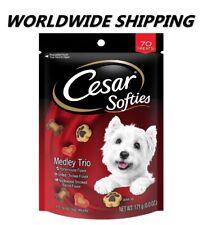 Cesar Softies Dog Treats Medley Trio 6 Oz 70 Ct WORLDWIDE SHIPPING
