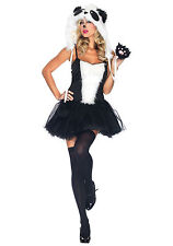 LEG AVENUE PLAYFUL PANDA ADULT HALLOWEEN COSTUME WOMEN'S SIZE M/L