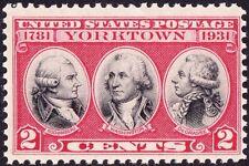 US - 1931 - 2 Cents Surrender of Cornwallis at Yorktown Revolutionary War #703