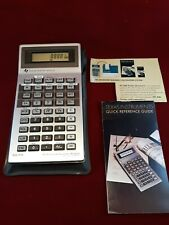 Texas Instruments Ba-55 Professional Business Analyst Calculator Case & Manual