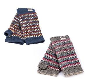 Kusan 100% Wool Multi-Colour Handwarmers PK1801  In A Choice Of Colours