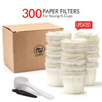 i Cafilas Disposable Paper Filters Cups for Keurig Reusable K-Cup Coffee Pods