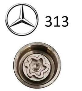 MERCEDES Locking Wheel Nut Key Code 313