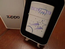 1999 NATIONAL ZIPPO DAY BRADFORD PA ZIPPO LIGHTER MINT LOOK  LIMITED EDITION