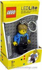 LEGO City Chase McCain LED Key Light Key Chain by Santoki NEW & SEALED