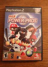 Playstation 2 Video 2K Sports Game MLB Power Pros Baseball