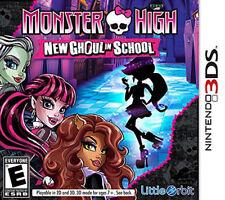 Monster High New Ghoul in School 3DS New Nintendo 3DS, Nintendo 3DS