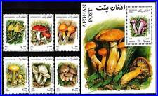 AFGHANISTAN 2001 Wild MUSHROOMS + S/s MNH vf