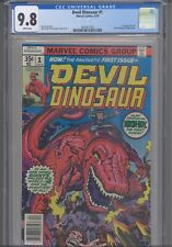 Devil Dinosaur #1 CGC 9.8 1978 Marvel Comics Jack Kirby Cover 1st App Moon-Boy