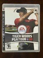 Tiger Woods PGA Tour 08 (Sony PlayStation 3, 2007) PS3 Game Complete & Manual