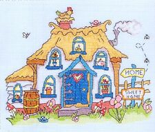 """Bothy Threads Counted Cross Stitch Kit """"Sew Dinky Cottage"""""""