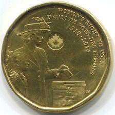 2016 CANADA ONE DOLLAR Coin - Women's Vote 100th Anniversary
