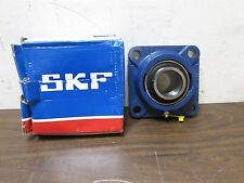 """SKF Four Bolt Flange Mount Ball Bearing 1.75"""" BORE 44.45 MM FY 1.3/4 RM ITALY"""