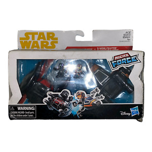 Solo A Star Wars Story Micro Force Tie Silencer vs X-Wing Vehicle 2-Pack