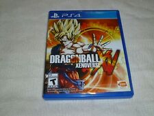 Dragon Ball XenoVerse (Sony PlayStation 4, 2015)   WITH CASE