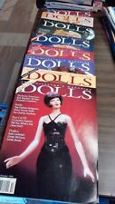 8 Dolls Collectors Magazines from 1995 excellent condition