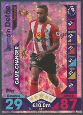 TOPPS MATCH ATTAX 2016-17- #387-SUNDERLAND-JERMAIN DEFOE-GAME-CHANGER