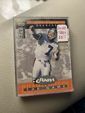 1994 Collectors Choice 'CRASH THE GAME' Silver Set