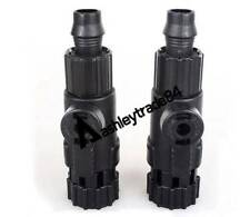 2PCS For AT-3338 AT-3337 EF-4 EF-3 CF-1000 CF-1200 inlet outlet valve