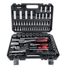 POWERFIX Socket Spanner Set 94 Piece Set Chrome-vanadium Steel