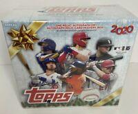 2020 Topps Holiday MLB Baseball Sealed Mega Box Walmart Exclusive Auto Relic