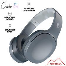 Skullcandy Crusher Evo Wireless Sensory Bass & Personal Sound Headphones - Grey