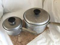 Vintage Mirro Aluminum Cookware Set- Mid-Century Cookware