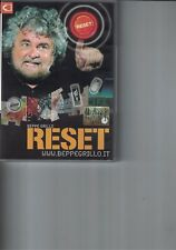 DVD - BEPPE GRILLO - RESET - 2007
