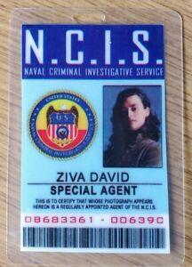 NCIS TV Series ID Badge - Special Agent Ziva David costume cosplay