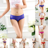 Sexy Women Mesh Nylon Lingerie Knickers G-string Thongs Panties Underwear Briefs