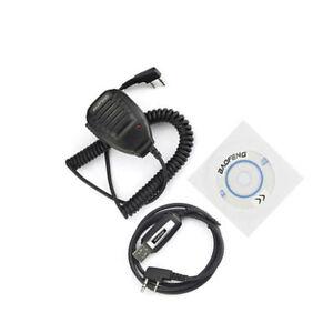 Baofeng USB CAVO PROGRAMMAZIONE MICROFONO CD PER Baofeng RICETRASMITTENTE t1