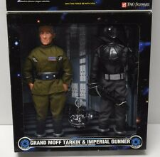 "Tarkin + Imperial Gunner Star Wars Kenner 1997 12"" Action Figure 1/6th scale NIP"
